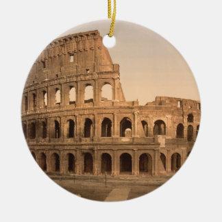 Yttre av Colosseumen, Rome, italien Julgransprydnad Keramik