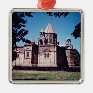 Yttre av den Etchmiadzin domkyrkan Julgransprydnad Metall