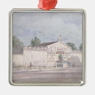 Yttre beskåda av Astleys amfiteater, 1777 Julgransprydnad Metall