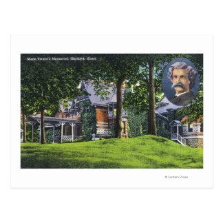 Yttre beskåda av den Mark Twain minnesmärken nr. 2 Vykort