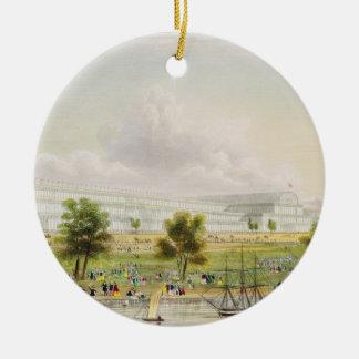 Yttre beskåda av den underbara utställningen allra julgransprydnad keramik