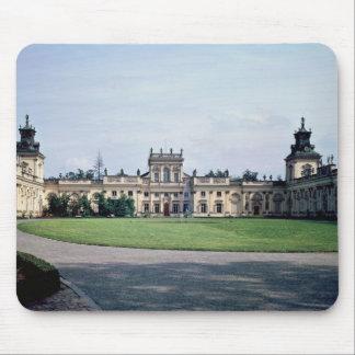 Yttre beskåda av slotten, byggd c.1677 musmatta