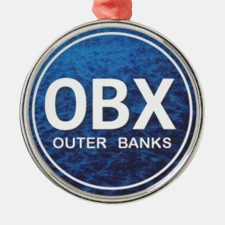 Yttre julprydnad för banker OBX Julgransprydnad Metall