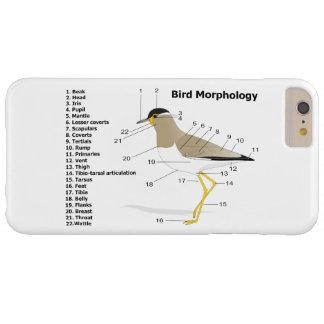 Yttre morfologi av en fågelVanellus Malabaricus Barely There iPhone 6 Plus Fodral