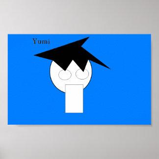 YUMI-affisch Poster
