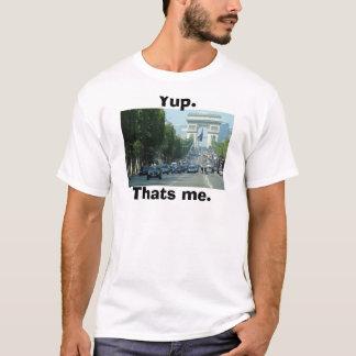 """""""yup. det är mig."""", t-skjorta t-shirt"""