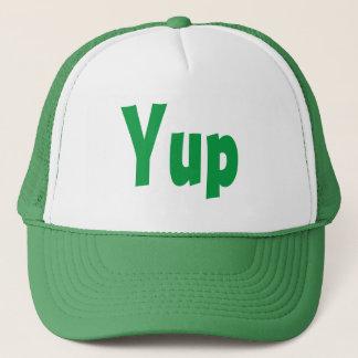 Yup hatt truckerkeps