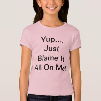 Yup…., Klandra precis all den på mig! Tshirts