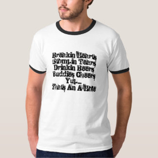 Yup (ljus utslagsplats) tee shirts