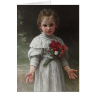 Yvonne - William-Adolphe Bouguereau Hälsningskort