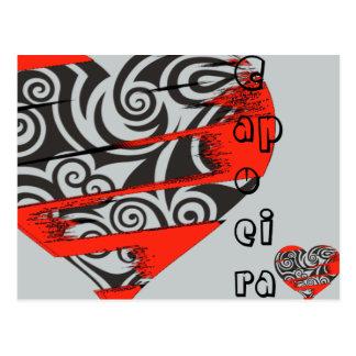 yxa för capoeira för Muttahida Majlis-E-Amal för Vykort