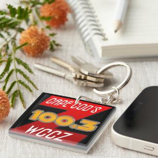 Z100.3 logotyp Keychain - vråk främling för