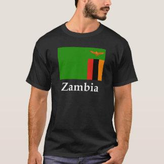 Zambia flagga och namn tee