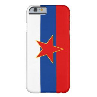 Zastava Srbije, serbisk flagga Barely There iPhone 6 Skal