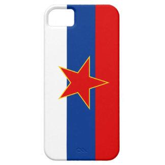 Zastava Srbije serbisk flagga iPhone 5 Case-Mate Fodraler