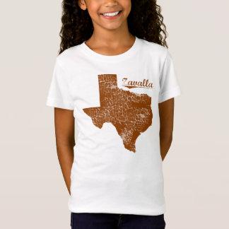 Zavilla bekymrade Texas - påstå designen T-shirt