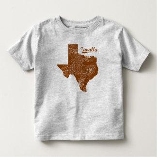 Zavilla bekymrade Texas - påstå designen Tröja