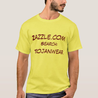 Zazzle.com sökande: , Trojanwear T-shirts