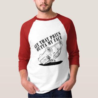 Zazzles först dubbla sid den Anti hybrid- T-tröja Tee Shirts