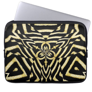 Zebra mönstrad #2_ laptop datorskydd