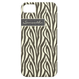 Zebra mönstrad Fodral-Kompis för iPhone 5 fodral (