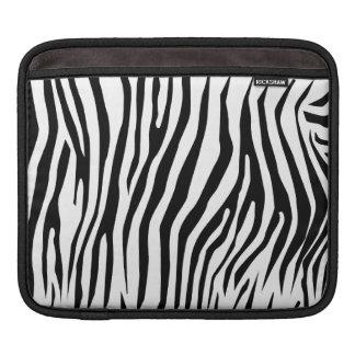 Zebra mönstrad iPad sleeve