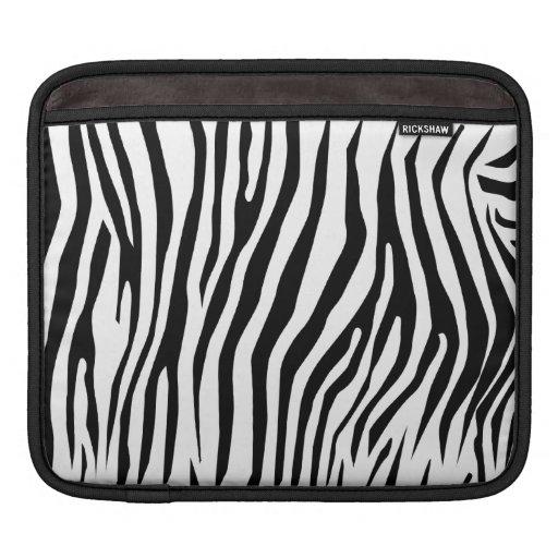 Zebra mönstrad sleeves för iPads