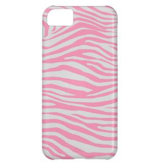 Zebra mönstrad iPhone 5C fodral