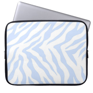 Zebra mönstrad laptop sleeve datorskydds fodral