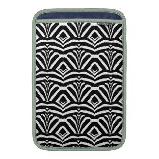 ZEBRA RÄNDER FÖR! (en svart- & vitdesign) ~ Sleeves För MacBook Air