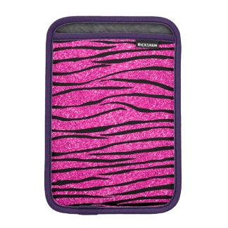 Zebra ränder för neonshock rosaglitter