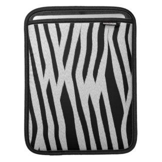 Zebra ränder sleeves för iPads