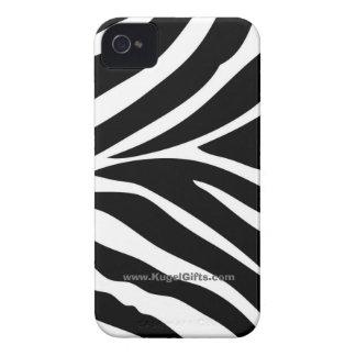 """""""Zebra ränder """", iPhone 4 Case"""