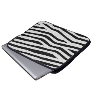 Zebra ränder laptop sleeve