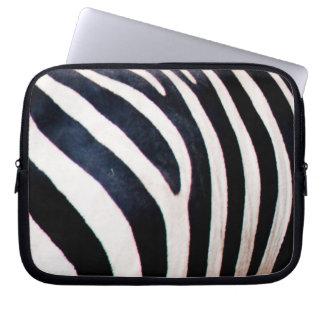 Zebra ränder datorfodral