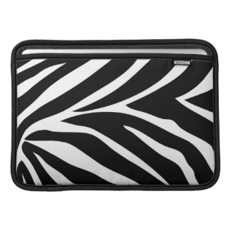"""Zebra ränder"" MacBook luft 11"" horisontalsleeve MacBook Air Sleeves"