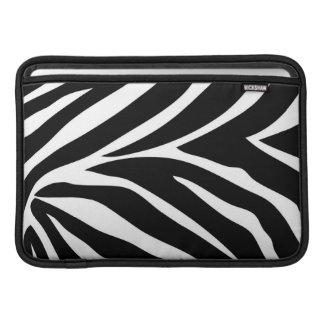 """Zebra ränder"" MacBook luft 11"" horisontalsleeve MacBook Sleeve"