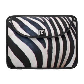 Zebra ränder sleeve för MacBooks