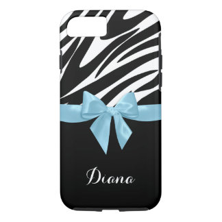 Zebra ränder med himmelblåttpilbågen med namn
