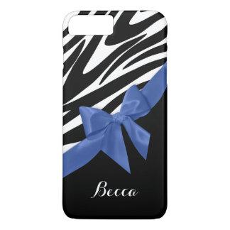 Zebra ränder och blåttpilbåge med namn