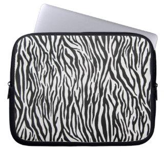 Zebra ränderbärbar dator hänger lös [start från laptopskydd fodral