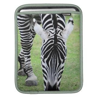 Zebra ränderipad sleeve sleeve för iPads