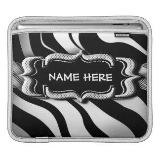 Zebra ränderipad sleeve iPad sleeve