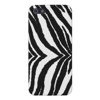Zebra tryck iPhone 5 skal