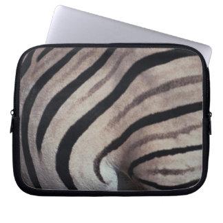 Zebra tryck datorfodral