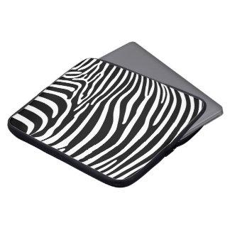 Zebra tryck laptopskydd