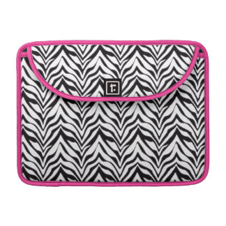 "Zebra tryck Macbook Pro 13"" sleeve Sleeve För MacBooks"
