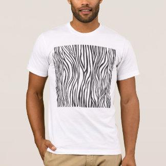 zebra tryck t-shirts