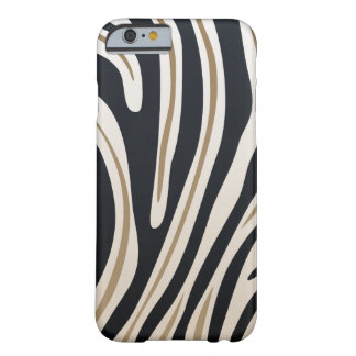 Zebra tryckfodral barely there iPhone 6 fodral