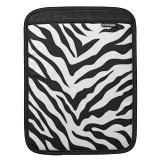 Zebra tryckipad sleeve - lodrät iPad sleeve